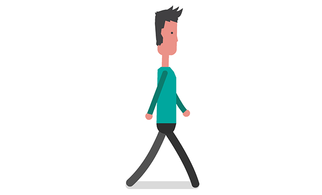 Download: Character Animation: Walk Cycle - Adobe Animate CC Sample